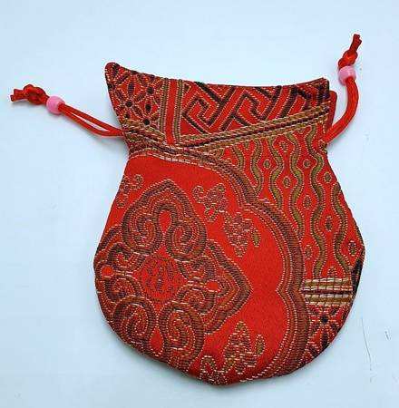 Bag for malas - red