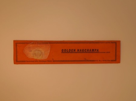 Golden Nagchampa Incense